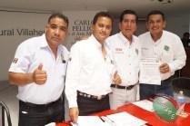 CONAPE fomenta la unión del gremio periodístico en Tabasco (109)