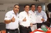 CONAPE fomenta la unión del gremio periodístico en Tabasco (110)