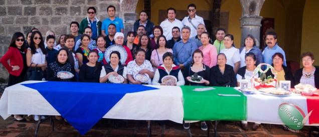 CONAPE conoce la gastronomía de Calpan, Puebla.