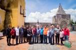 Directivos de CONAPE visitaron diversos municipios de Puebla.
