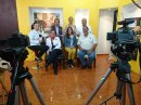 Entrevista en Canal 4 Televisión de Ciudad Guzmán, fue la que tuvo la Vicepresidencia de CONAPE en Colima.