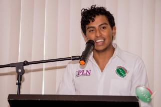 Christian González, Vicepresidente de Imagen Institucional clausuro el evento