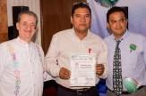 Entrega de nombramiento a Claudio Jesús Vargas