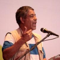 Luis Peña, vocero de los medios comunitarios y alternativos.