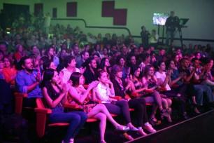 El Teatro Junín se llenó completamente para la Gala Audiovisual de CONATEL 2016. (Foto: Jesús Fernández)