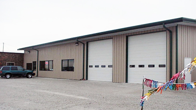 R and R RV's Steel Frame Building