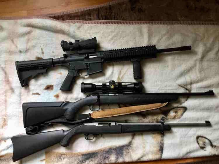 .22 rifles preppers