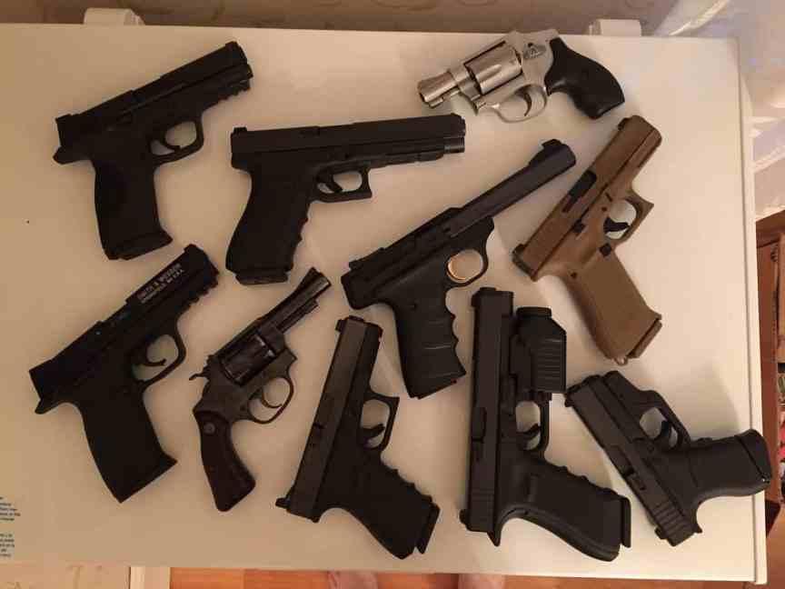 handguns preppers