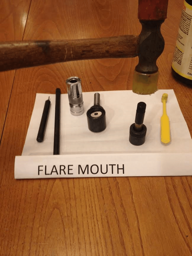 flare mouth