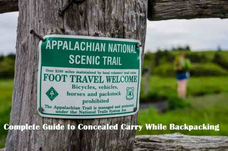Appalachian National Scenic Trail Sign