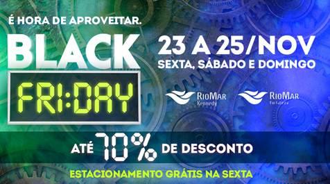 b2d2263d93 Uma das datas mais esperadas do ano acontece neste final de semana  a Black  Friday. O público poderá aproveitar as promoções que ocorrerão no comércio  ...