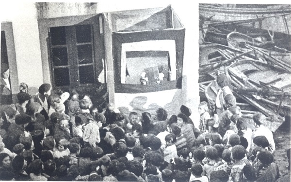 El Retablo de Fantoches conmemora el estreno de la obra de Rafael Dieste