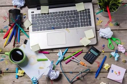 Strukturiere deinen Arbeitsplatz richtig und du wirst fokussierter arbeiten
