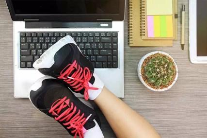Eine gesunde Balance zwischen Arbeit und Bewegung ist bei Konzentrationsproblemen wichtig
