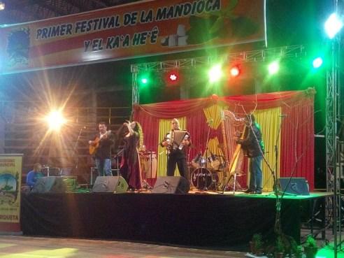 Primer festival de la mandioca Ka'a He'ê
