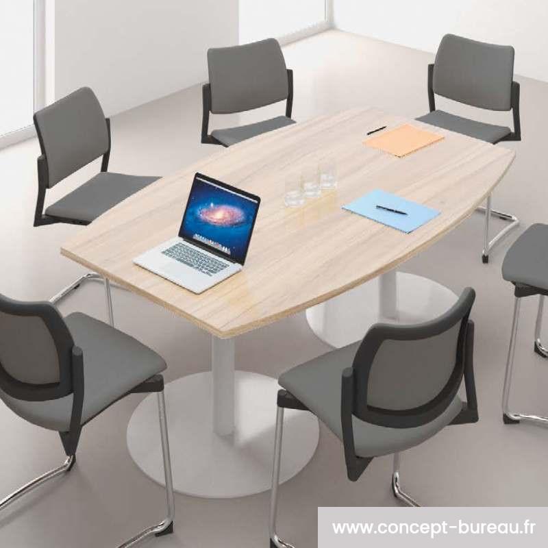 table de reunion pour 6 personnes rio