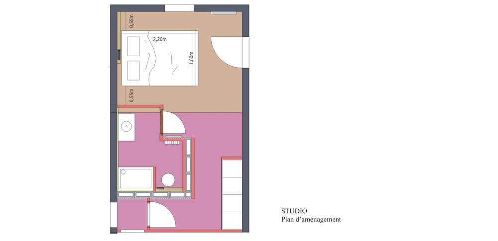 transformation d un garage en une chambre