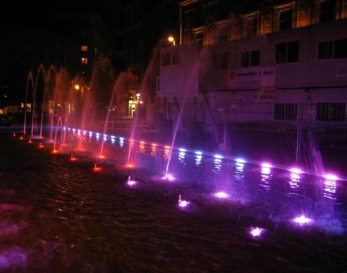 Strasbourg - Place Kléber - Jeux de lumières