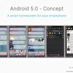 Android 5.0 Concept Rendered by Toshe Andonov Makes Your Screen Busy