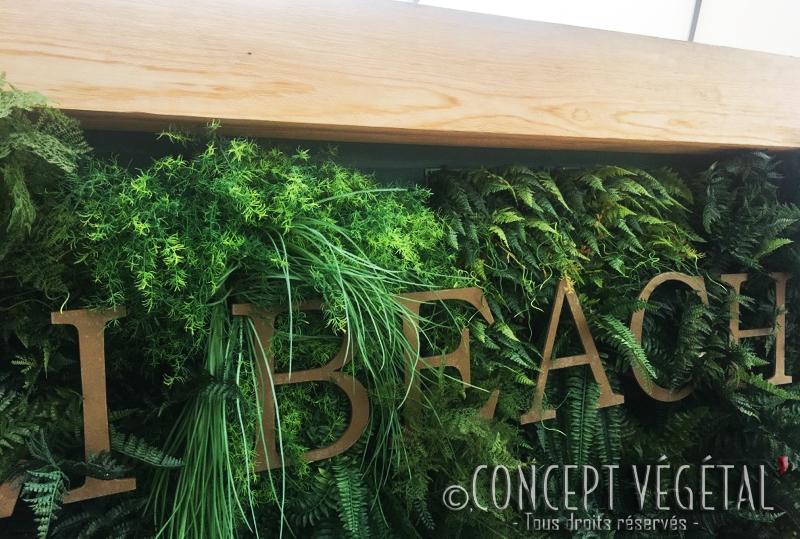 mur vegetal artificiel pour l exterieur