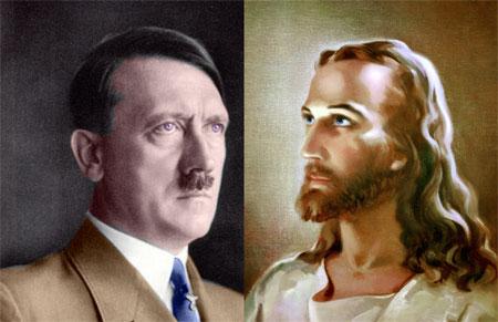 Hitler und Jesus gegen die Juden