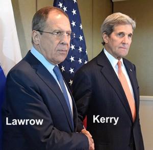 Lawrow und Kerry