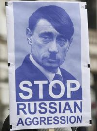 Hetze gegen Putin