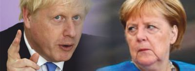Johnson killt Merkel