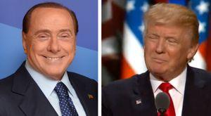 Berlusconi und Trump