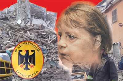 Blut, Tränen und Ruinen das ist Merkels Hinterlassenschaft