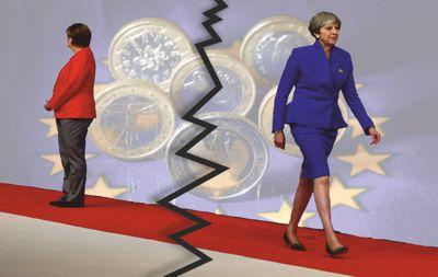 Höllenweiber der EU - Merkel und May - beide sind am Ende