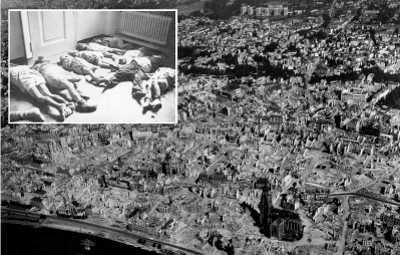 Frankfurt am 22. März 1944
