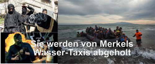 Merkels Wassertaxis