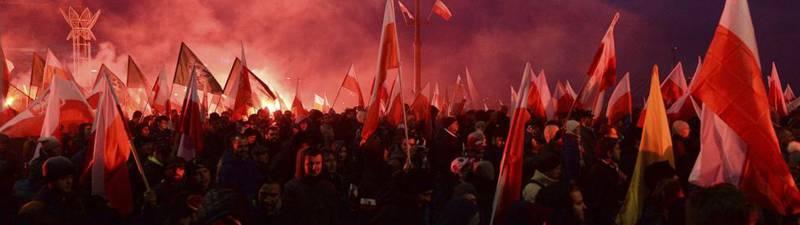 Polen steht auf gegen Merkel