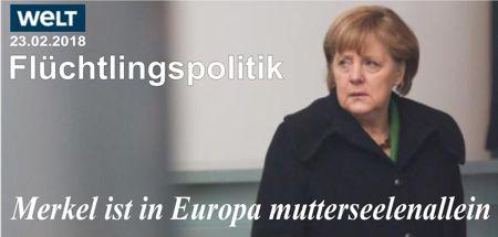 Merkel freigegeben zur Schlachtung