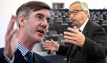 Rees-Mogg erklärt Fiesling Juncker wer wen braucht