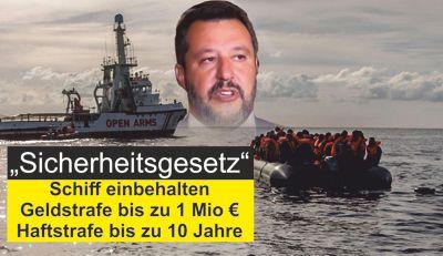 Flüchtlingshelfer sind Verbrecher
