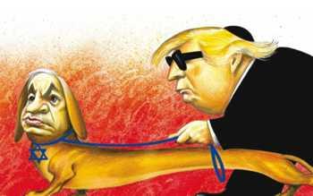 Trump und sein Hündchen Netanjahu