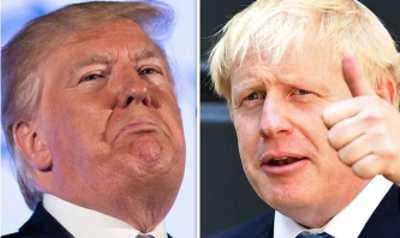 Donald unt Boris - die EU-Vernichter
