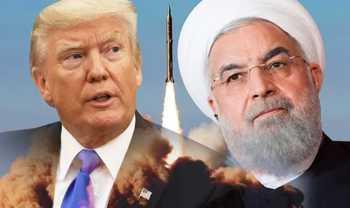 Trump und Rouhani