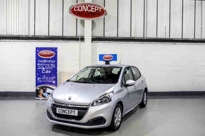 used peugeot 208 active - car showroom manchester