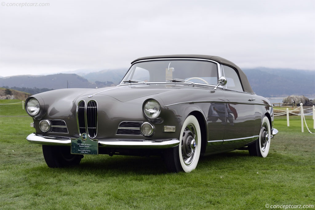 Auction Results and Sales Data for 1957 BMW 503 1957 BMW 503