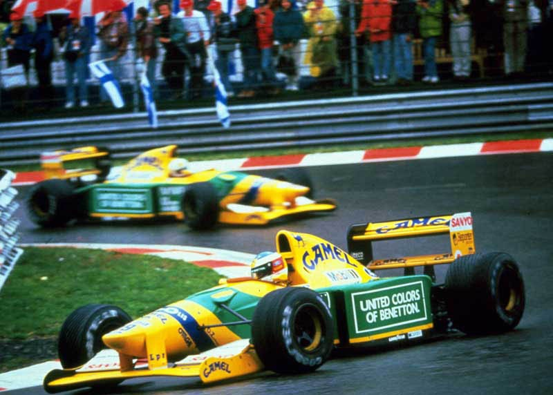 Image result for 1992 benetton b192