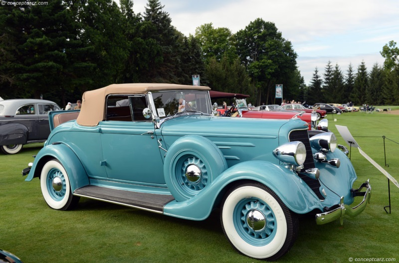 1934 Dodge Coupe Fenders