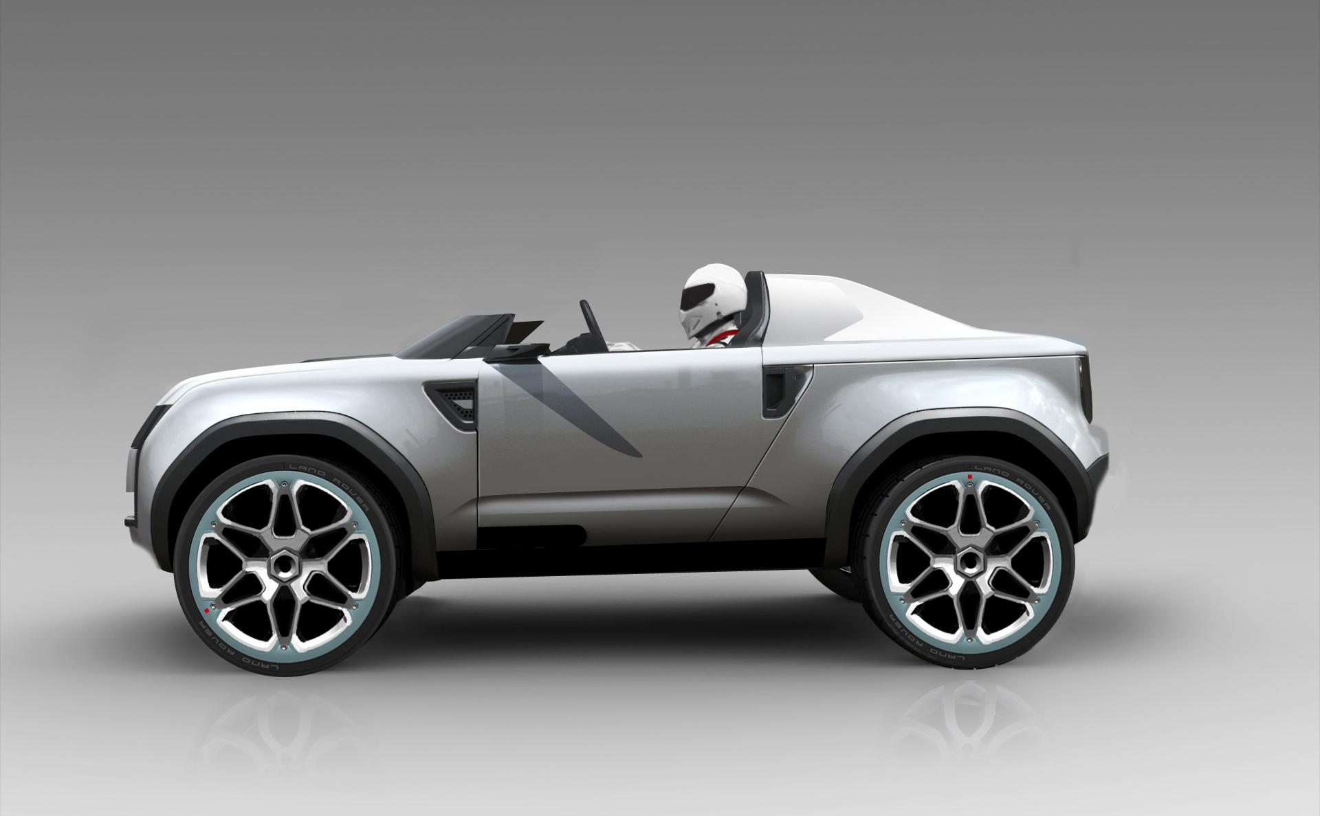 2012 Land Rover DC100 Sport Concept News Research