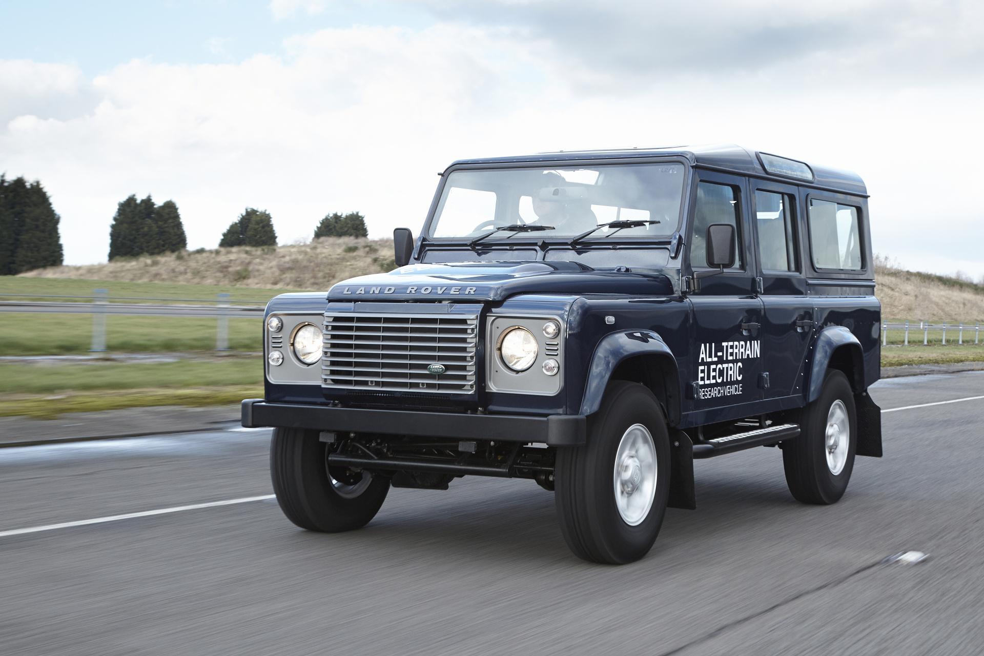 2013 Land Rover Rover Defender Electric Concept News