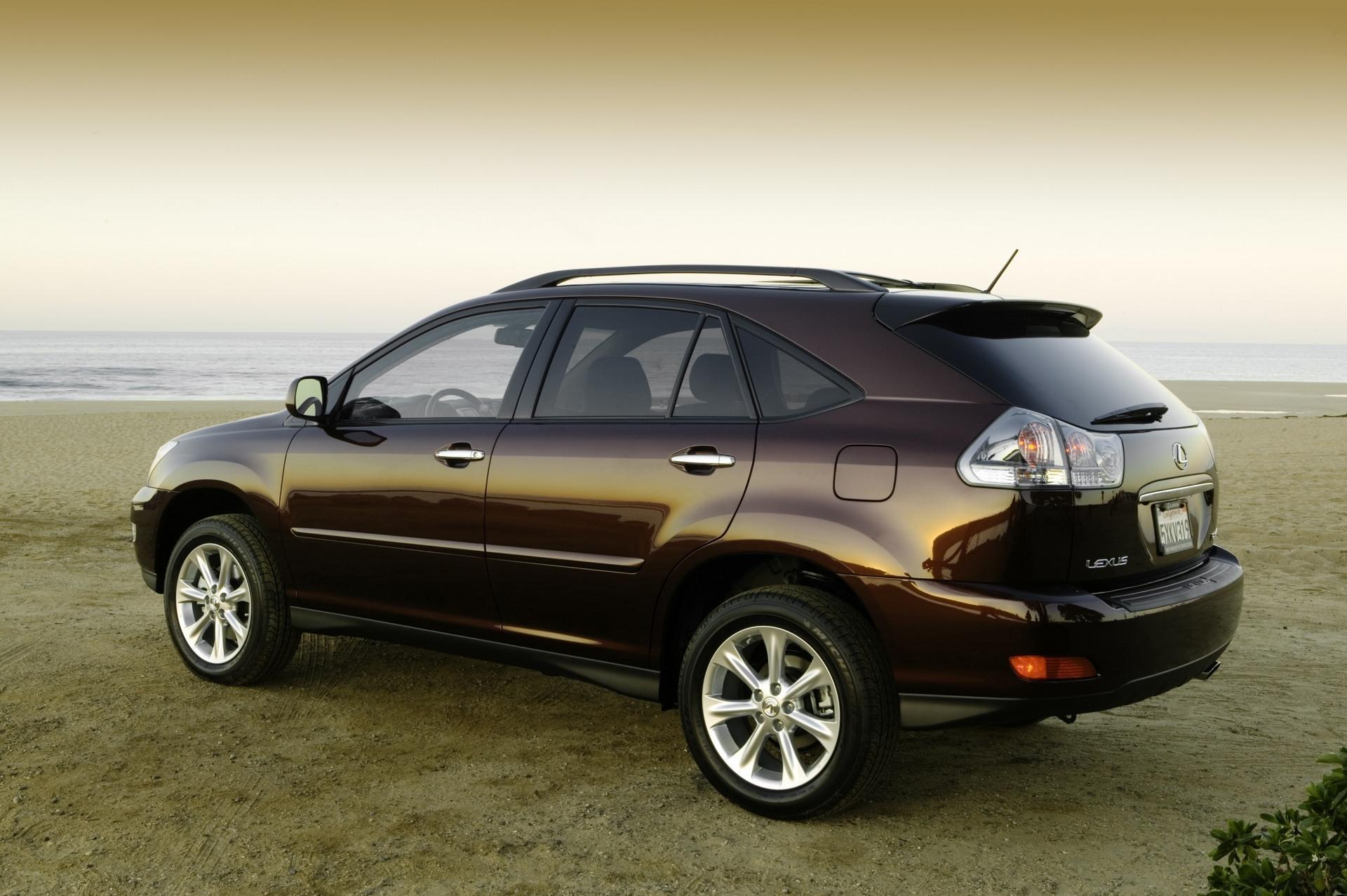 2009 Lexus RX 350 Desktop Wallpaper and High Resolution