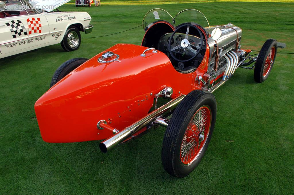 1923 Mercedes Indy 500 Race Car Image