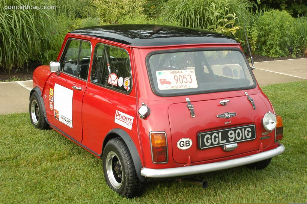 Auction Results And Data For 1969 Morris Mini Cooper