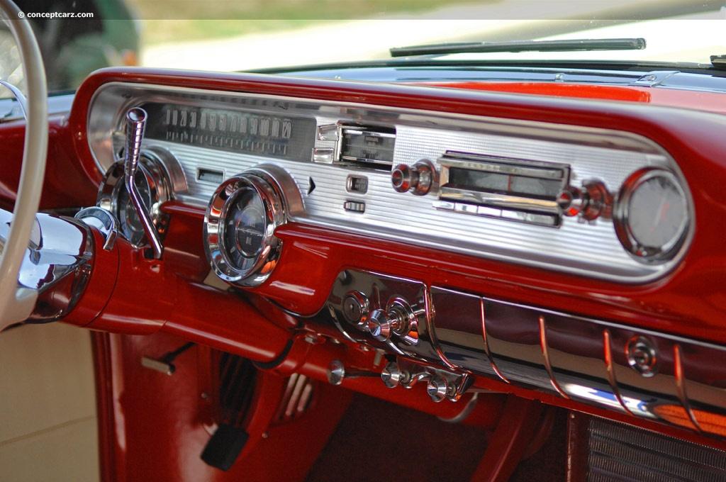 1957 Pontiac Bonneville Image Chassis Number P857H30450